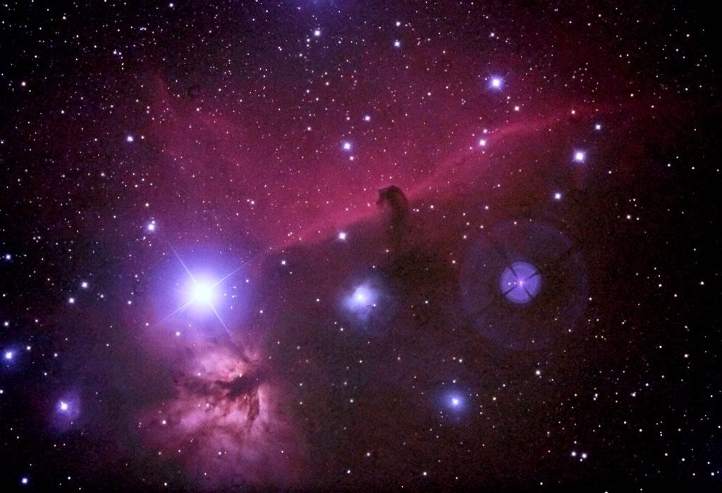 Horse-Head nebula (IC-434)ORSA