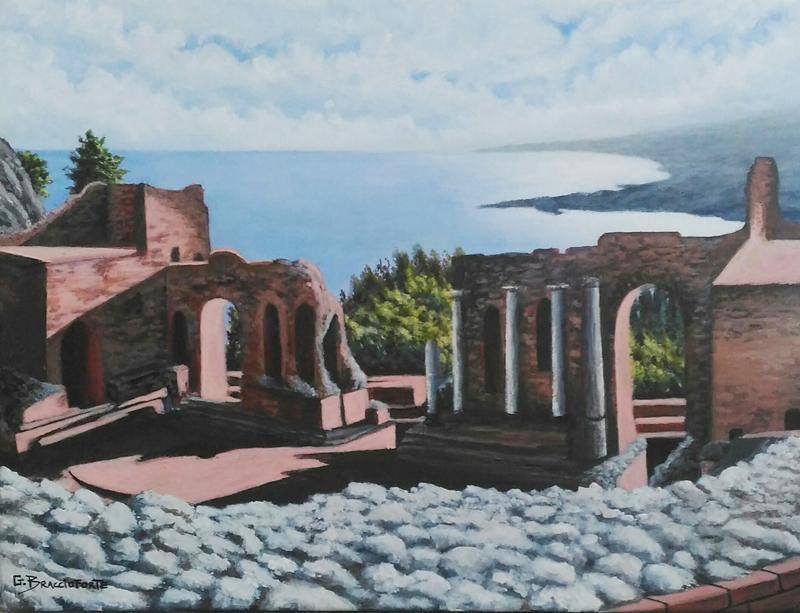 1 PREMIO  - Teatro antico di Taormina - Gandolfo Braccioforte_