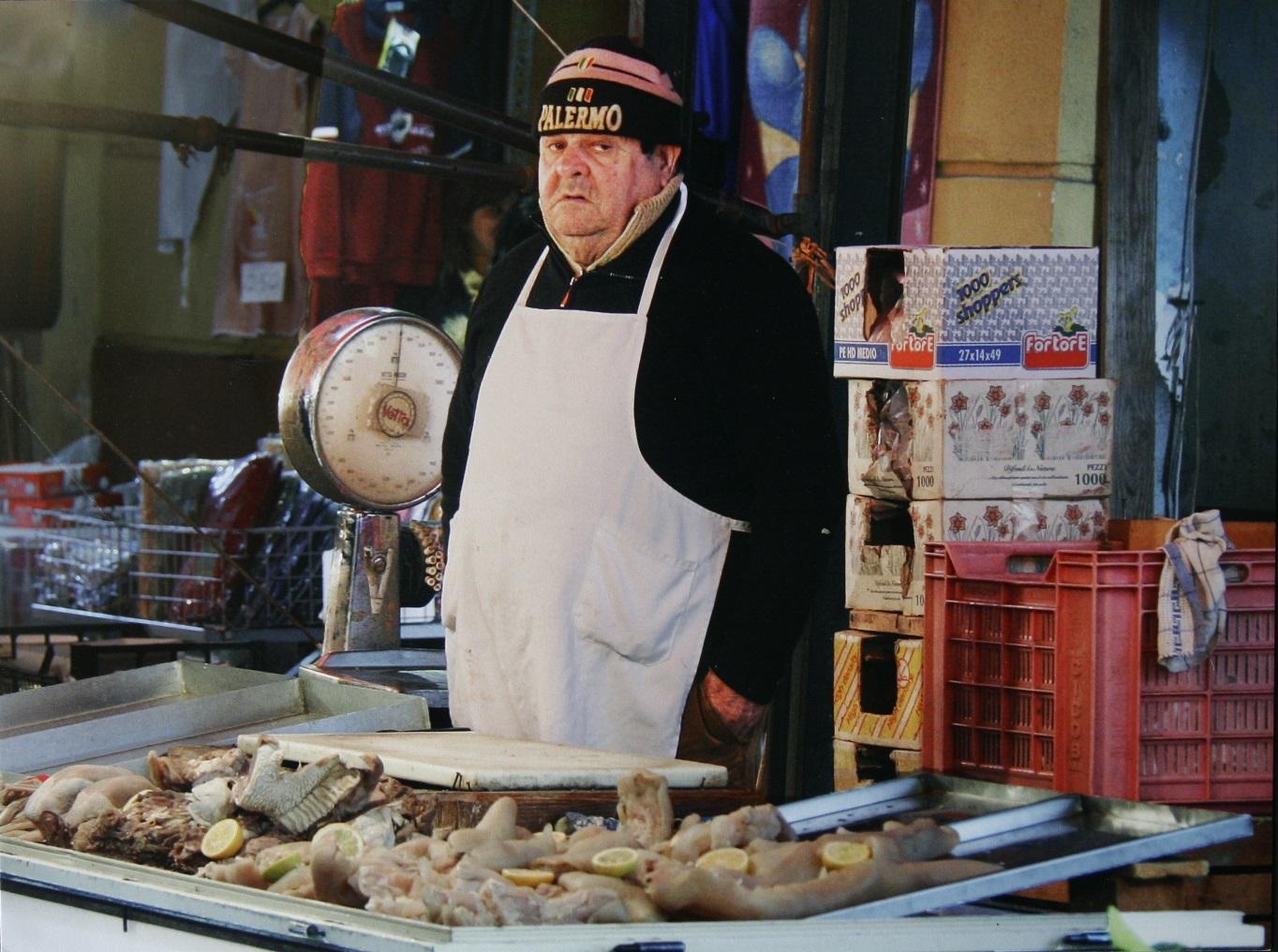 Venditore di mussu di Federico Di Chiara primo premio